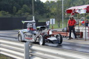 Altered Drag Car launching