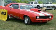 1969 Z28 Orange Camaro