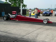 Maroon DRAGSTER