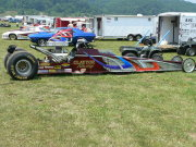 Dragster With Cool Graphics