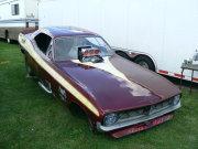 Nostalgia Plymouth Funny Car
