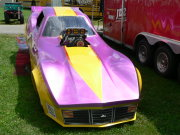 Nostalgia Corvette Funny Car