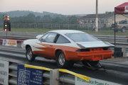 Yellow And Orange Monza Drag Car