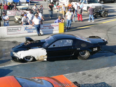 BLOWN BOSS MUSTANG Drag Car