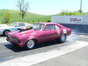 Purple NOVA Doing Burnout