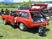 Red Vega Wagon