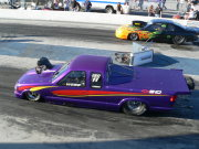 Purple S10 Blown Top Mm