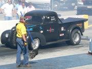 1940'S Black Drag Truck