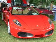 Red Ferrari F430
