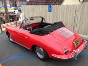 Red Porsche Convertible