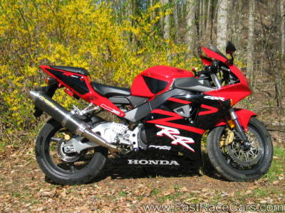 2003 CBR 954RR Red and Black