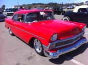 Red 1956 Chevrolet
