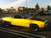 Yellow 1969 Camaro Ss 327