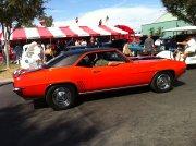 Orange 1969 Camaro Z28