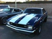 Blue 1968 Camaro