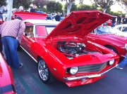 Red 1969 Camaro Convertible