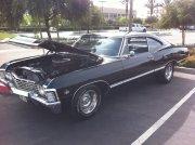 Black Chevrolet Chevelle