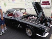Black 1962 Corvette