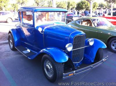1930s Blue 5-Window Coupe
