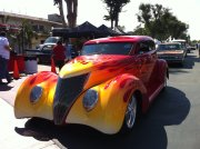 1937 5-Window Coupe With Flames
