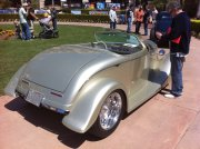 Silver 1934 Custom Hot Rod