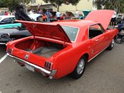 Red 1965 Mustang