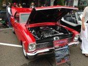 Red 1966 Chevrolet Nova