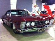 Maroon Buick Riviera