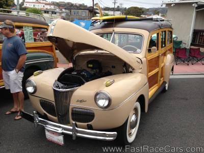 1941 Ford Super Deluxe Woodie Wagon
