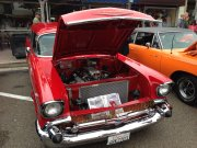 Red 1957 Chevrolet Bel Air Wagon