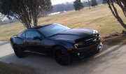 Black 2013 Chevrolet Camaro Ss 1le