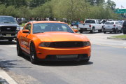 Orange Mustang Gt 5.0