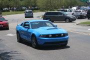 Bright Blue Mustang Gt 5.0