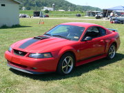 Red Mustang