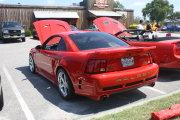 Red Saleen Mustang
