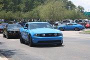 Bright Blue Mustang Gt
