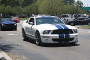 White Mustang Gt500 Cobra