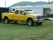 Yellow F-350 Ford Crew Cab