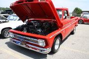 Red Chevrolet Truck