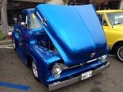 Blue 1956 Ford F-100